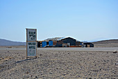 Ethiopia; Afar region; Rest area and hotel in the Danakil desert, on the way from Semera to the Afrera salt lake