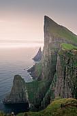 Cliffs at Mylingur on Streymoy Island, Faroe Islands