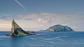 Tindholmur Island and Mykines, Faroe Islands