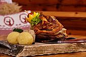 Upper Bavarian specialty, Winklmoos Alm, Reit im Winkl, Chiemgau, Bavaria, Germany