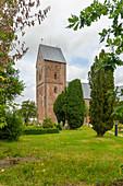 St Johannis Church, Nieblum, Foehr Island, North Frisia, Germany