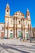 Kirche San Domenico, Palermo, Sizilien, Italien