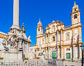 Church of San Domenico, Palermo, Sicily, Italy