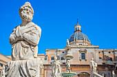 Piazza Pretoria, Palermo, Sicily, Italy, Europe,