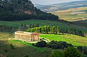 Segesta Tempel, Segesta, Sizilien, Italien