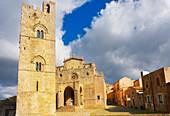 Erice Duomo, Erice, Sicily, Italy, Europe,