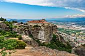 Holy Monastery of St Stephen, UNESCO World Heritage Site, Meteora Monasteries, Greece, Europe