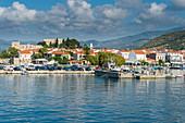 The port of Phytagoteio, Samos, Greek Islands, Greece, Europe