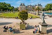 France, Paris, Luxembourg gardens