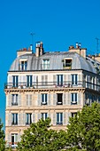 France, Paris, buildings Place de la Nation