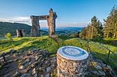 France, Haute Loire, Allegre, la Poterne, castle, Parc naturel r?gional Livradois-Forez, Livradois Forez Regional Natural Park