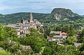 France, Haute Loire, Saint Julien Chapteuil, monts du Velay