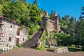 France, Haute Loire, Saint Paulien, La Rochelambert castle