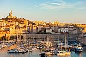 France, Bouches du Rhone, Marseille, le Vieux Port
