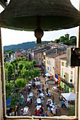 France, Var, Dracenie, La Motte, Clemenceau square, The 7th Night of the Winegrowers