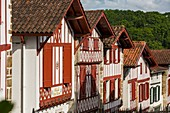 France, Pyrenees Atlantiques, Bask country, Labeled The Most Beaul Villages of France