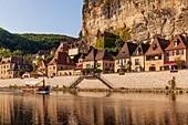 France, Dordogne, Dordogne Valley, La Roque-Gageac, labeled The Most Beaul Villages of France