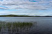 View over the lake Fatjassjön, Boden, Norrbottens Iän, Sweden