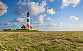 Westerheversand lighthouse, North Friesland, Schleswig-Holstein