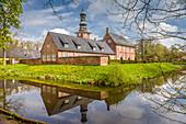 Castle in front of Husum, North Friesland, Schleswig-Holstein