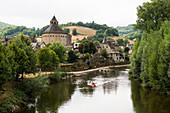 Sainte-Eulalie-d'Olt, Aveyron department, Occitania, France
