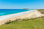 75-Meilen Strand, Great Sandy National Park, Fraser Island, Queensland, Australien