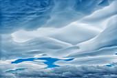 Wolken, Nationalpark Torres del Paine, Patagonien, Chile, Südamerika