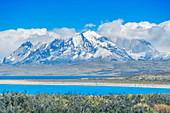 Cuernos del Paine Berge, Torres del Paine, Nationalpark, Patagonien, Chile, Südamerika