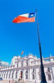 Palacio de la Moneda, Santiago de Chile, Chile, South America