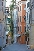 Guilford Street, Old Town, Kerkira, Corfu Town, Corfu Island, Ionian Islands, Greece