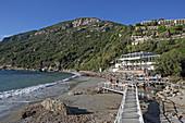 Hotel Grand Mediterraneo Resort südlich des Ortes Pelekas an der Westküste der Insel Korfu, Ionische Inseln, Griechenland