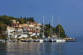 Hafenbucht von Kassiopi, Insel Korfu, Ionische Inseln, Griechenland
