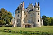 France, Cher, Oizon, the castle of la Verrerie