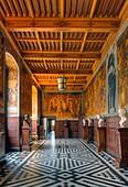 France, Yonne, Ancy le Franc, castle of Ancy le Franc, Pharsalus's gallery