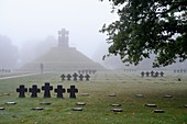 France, Calvados, La Cambe, German military cemetery of the second world war