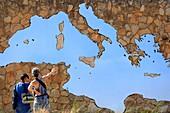 France, Var, Hyeres Islands, Port Cros National Park, Porquerolles Island, Carmignac Foundation, Le Jardin, Sea of Desire exhibition, Jean Denant Crossing