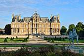 France, Yvelines, Maisons Laffitte, Chateau de Maisons, castle built by Mansart in the 17th century