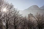 St. Nikolaus Church in Bad Reichenhall, Upper Bavaria, Bavaria, Germany