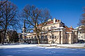 Kurhaus us town church of Bad Reichenhall, Upper Bavaria, Bavaria, Germany