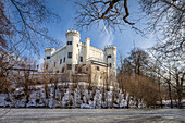 Marzoll Castle near Bad Reichenhall, Upper Bavaria, Bavaria, Germany
