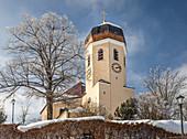 Christ the King Church in Wildenwart, Upper Bavaria, Bavaria, Germany