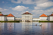 Nymphenburg Palace in Munich, Upper Bavaria, Bavaria, Germany