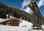 Old mountain farm in the Arntal, Hinteres Villgratental, East Tyrol, Tyrol, Austria