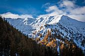 Talschluss des Alfentals oberhalb Kalkstein, Innervillgraten, Villgratental, Osttirol, Tirol, Österreich
