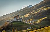 Heinfels Castle in Hochpustertal, Heinfels, East Tyrol, Tyrol, Austria