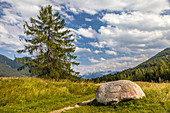 Stone circle and way of the cross in Seefeld in Tirol, Tyrol, Austria