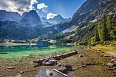 Seebensee in Gaistal, Ehrwald in Tirol, Tyrol, Austria