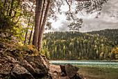 Blindsee at Fernpass, Biberwier, Tyrol, Austria