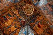 Interior view of the Church of the Prophet St. Elijah, Yaroslavl, Yaroslavl District, Russia, Europe