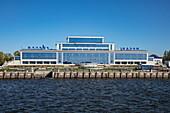 Kazan ship terminal on the Volga River, Kazan, Kazan District, Republic of Tatarstan, Russia, Europe